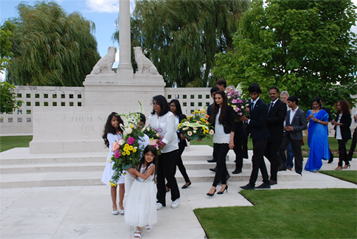 Centenary Commemoration of Indian Soldiers arrival in France organised by GOPIO